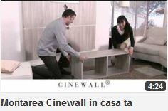 Montarea Cinewall