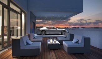Vrei sa-ti admiri masina in camera de zi?