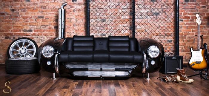 Mobila lux – canapea cu design