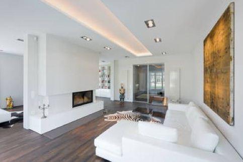 Amenajari interioare – camere spatioase, living modern