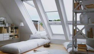 Folosirea spatiului de sub acoperis – mansarda