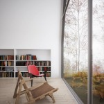 scaun de citit in case moderne
