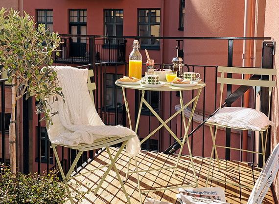 4 idei de amenajare pentru balcon