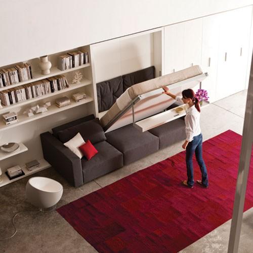 Dormitoare cu mobilier multifunctional