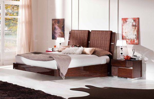 Noutate in designul interior: patul plutitor