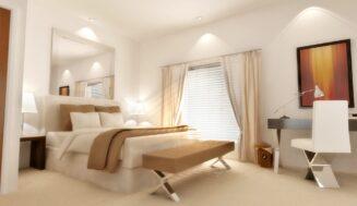 Sfaturi pentru a lumina un dormitor intunecos