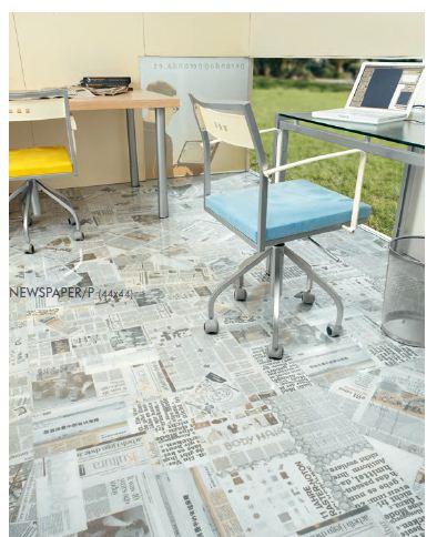 Cum a avut impact ziarul in amenajari interioare moderne