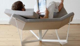 Mobilier de design: balansoar dublu
