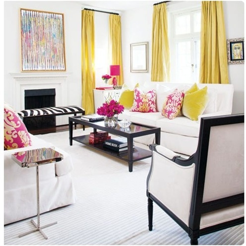 Galbenul – culoarea vedeta a unui interior