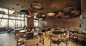 Interior inspirat de boabele de cafea