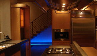 4 moduri de a integra lumini in bucatarie
