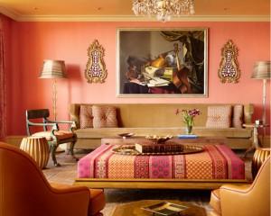 living in stil marocan