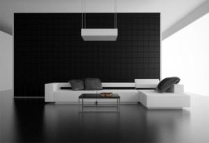 perete negru