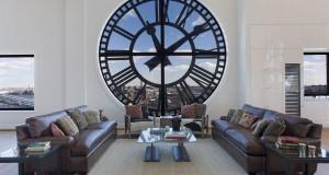 Amenajari interioare cu ceasuri