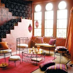 stilul marocan in amenajare