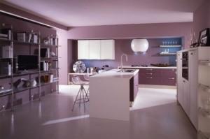 bucatarie violet