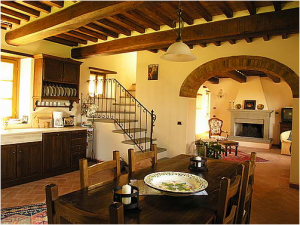 bucatarie  in stilul toscan