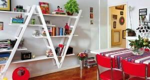 Scara: spatiu de depozitare practic in design interior