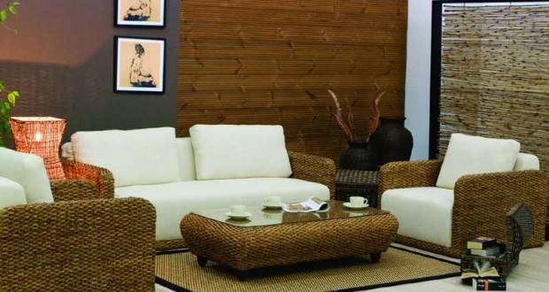 Amenajari interioare cu mobilier din ratan