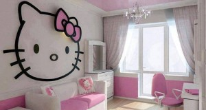 Hello Kitty: personaj indragit in camera fetite