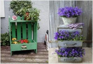 sertar practic pentru flori