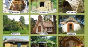 Top 9 cele mai frumoase case cob din lume