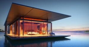 Case de lux: Cum arata casa plutitoare