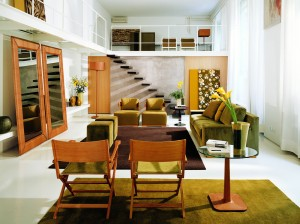 stil de amenajare Green home