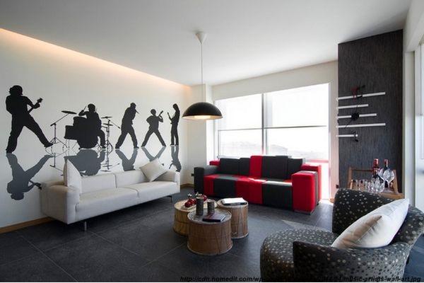 Decor muzical in amenajari interioare for Music themed interior designs