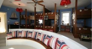 Design interior copii: 4 paturi supraetajate care va vor surprinde
