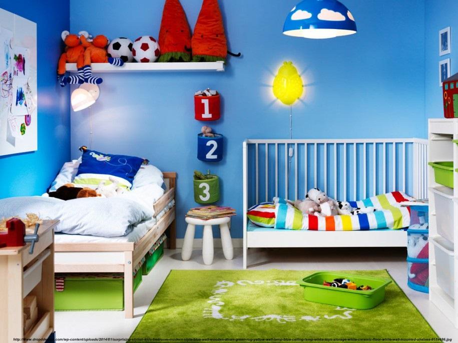4 decoratiuni de perete in design interior copii