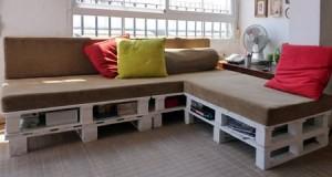 Cum sa amenajezi o canapea din paleti de marfa