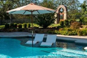 mobilier in piscine