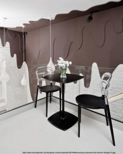 cafenea cu interior interesant