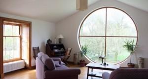 Fereastra rotunda, un detaliu arhitectural cochet