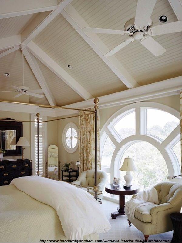 3 modalitati decor fereastra rotunda in design interior