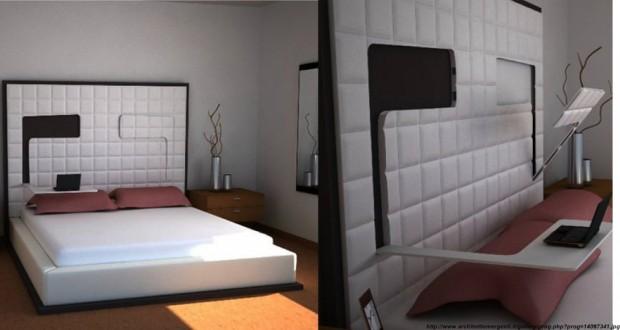 Suport pat pentru latop in case moderne