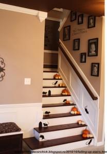 decoratiuni interioare de Halloween