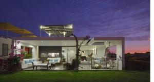 """ Casa florilor "" din Peru: eleganta si lux in stil minimalist"