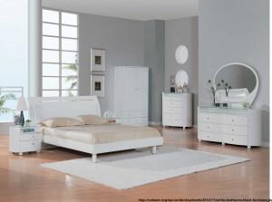 decor de iarna in dormitor