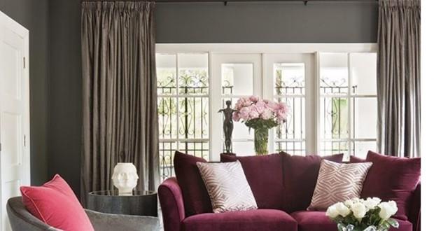 Marsala: culoarea vedeta in design interior