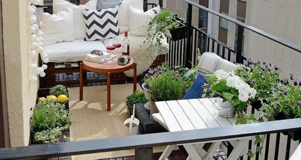 Intampina primavara cu 5 idei de amenajare balcon