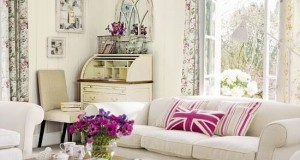 Stilul vintage in amenajari interioare living