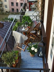 balcon amenajat cu stil si eleganta
