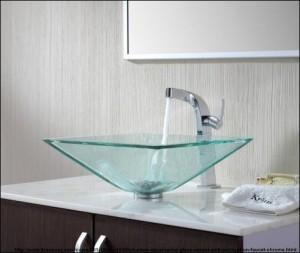 design chiuveta baie sticla