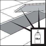 4.aplicare adeziv pe marginea placilor