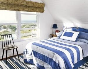 amenajare dormitor stil marin