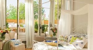Atmosfera de vara in amenajare dormitor