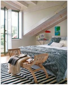 accente de vintage in dormitor