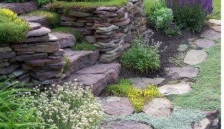 4 idei de amenajare cu piatra in gradini